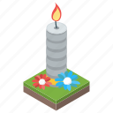 burning candle, candle, candle flame, candle light, paraffins icon