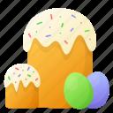 bakery, cake, decoration, easter, easter cake, egg, spring
