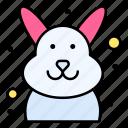 bunny, cute, easter, rabbit