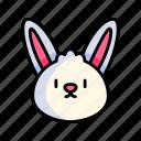 easter, rabbit, bunny, animal
