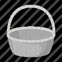 basket, easter, food, holiday