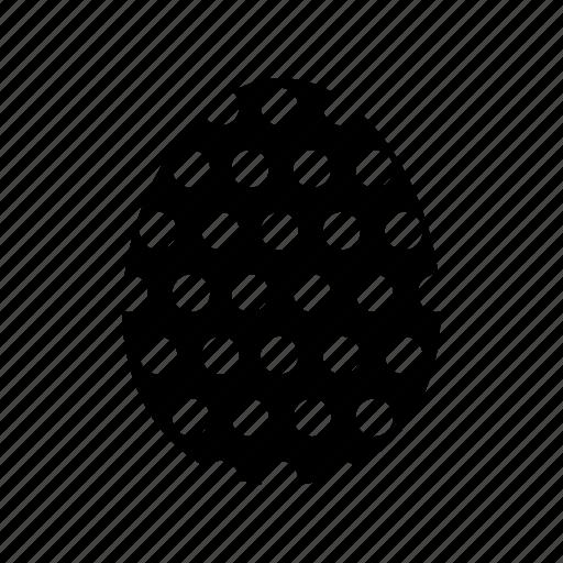 celebration, decorate, dots, easter, egg, hide, paint icon