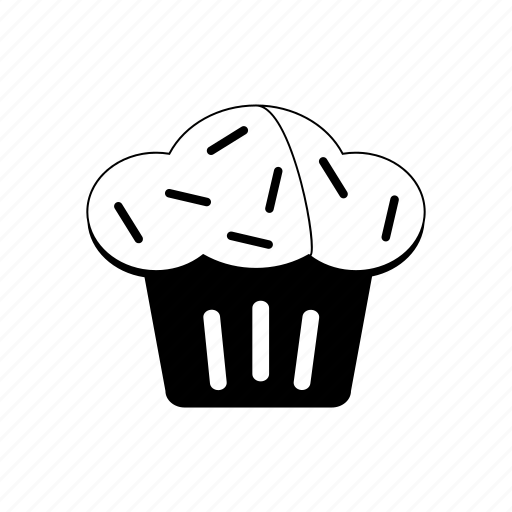 cupcake, dessert, easter, frosting, pastry, sweet, treat icon