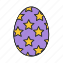 easter, egg, spring icon