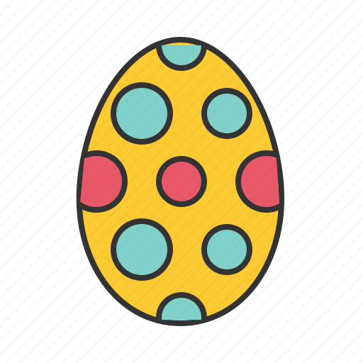 easter, egg, spring icon