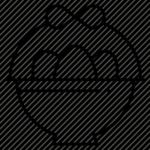 basket, easter, egg icon