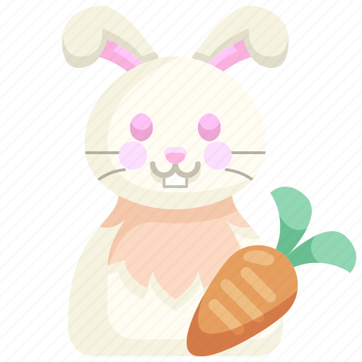 Animal, avatar, bunny, easter, pet, rabbit, wildlife icon - Download on Iconfinder