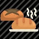 baked, bakery, bread, bun, buns, rolls, royce icon