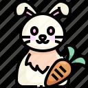 animal, avatar, bunny, easter, pet, rabbit, wildlife