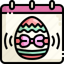 administration, calendar, celebration, christian, day, easter, schedule icon