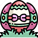 cultures, decoration, easter, egg icon