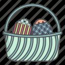 basket, church, cristian, easter, eggs, religion, religious