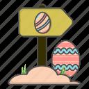 church, cristian, direction, easter, eggs, religion, religious