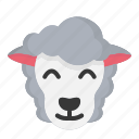 animal, cute, easter, easter day, lamb, sheep, spring icon