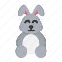 bunny, cute, doll, easter, easter day, rabbit icon