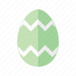 design, easter, egg, green, zag, zig, zigzag icon