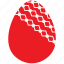 easter, egg, holiday, ornament icon