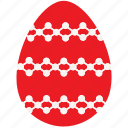 celebrate, easter, egg, ornament icon