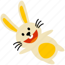 rabbit, bunny, easter, cute, holiday, mammal, wildlife
