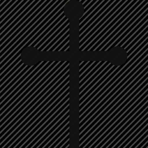 cross, religion, religious, symbol icon