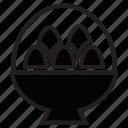 boiled, egg, food, half, hard, ramen icon