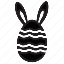 bunny, chick, chicken, easter, egg, rabbit icon