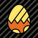 decorated egg, easter, easter celebrations, egg icon