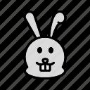 animal, bunny, cute, rabbit