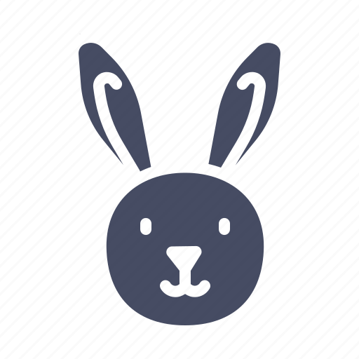 animal, bunny, cute, easter, happy, rabbit icon