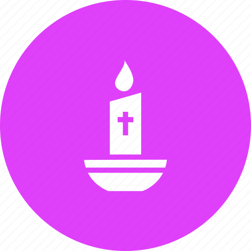 candle, christmas, easter, light icon