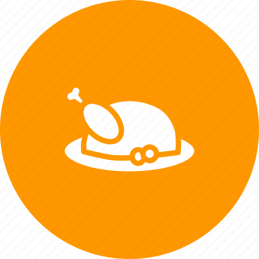 chicken, dinner, lunch, meal, meat, roast, turkey icon