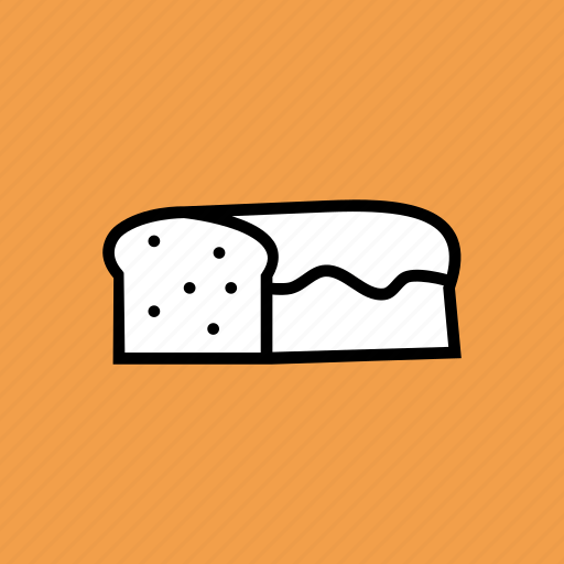 bake, bread, easter, food, gluten, loaf, wheat icon