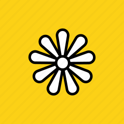 chamomile, easter, ecology, floral, flower, plant, spring icon