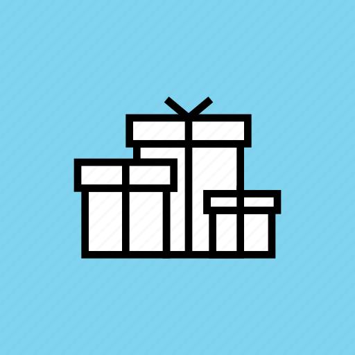 birthday, box, christmas, gift, gifts, present, presentation icon