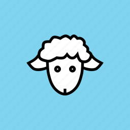animal, baby, cattle, cute, easter, kid, lamb icon
