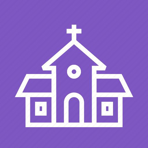 building, christ, christian, church, cross, religion, top icon