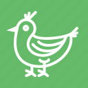 food, meat, roast, roasted chicken, roasted turkey, turkey icon