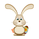 bunny, easter, rabbit, rss icon