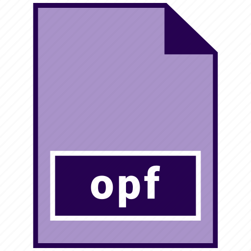 ebook file formats, file format, opf icon