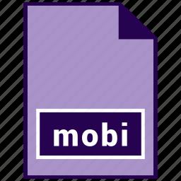 ebook file format, file format, mobi icon
