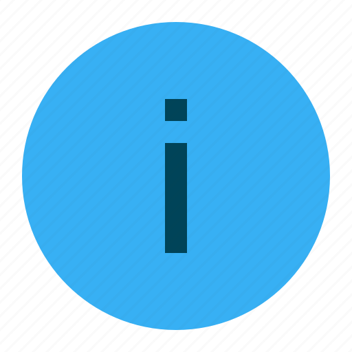 about, help, info, information icon