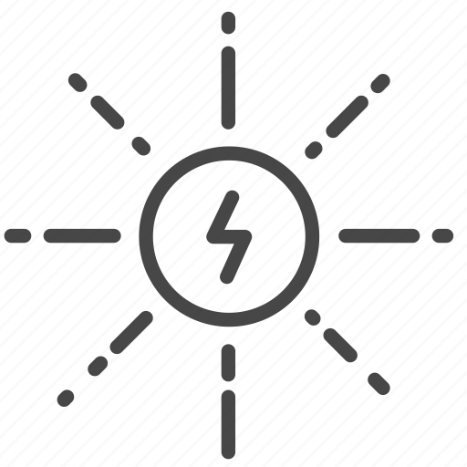 alternative, clean power, eco, energy, power, solar, sun icon