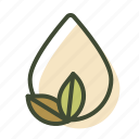 natural content, paraben free icon