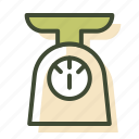 scales, weigh, zero waste, zero waste shop icon