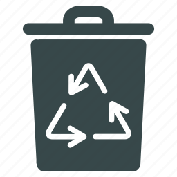 basket, container, environmental, garbage, recycle, recycling, trash icon