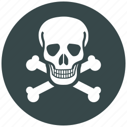 danger, dead, death, label, marker, spot, toxic icon