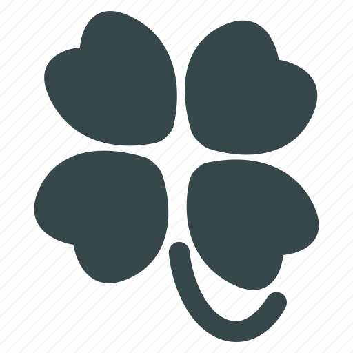 ecology, environment, four leafed clover, luck, natural, nature, plant icon