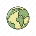 earth, eco, globe, green, nature, world icon