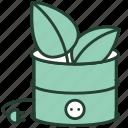 bio, eco, energy, fuel, natural, plant, plug icon