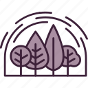 eco, environmental, forest, nature, program, project, protection icon